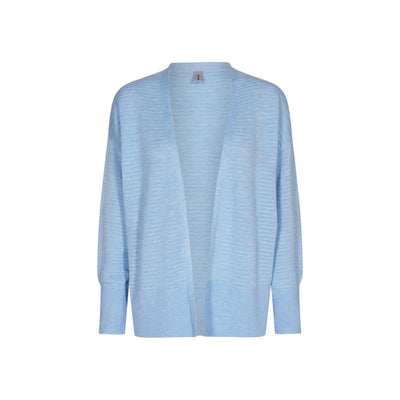 Soya Concept Niaka Cardigan Powder Blue-Soya Concept-Blue Water Clothing