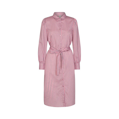 Soya Concept Oasis Stripe Dress Pink-Soya Concept-Blue Water Clothing