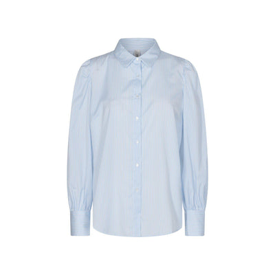 Soya Concept Obion Shirt Blue-Soya Concept-Blue Water Clothing