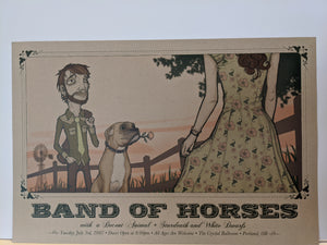 Band of Horses - Poster (Portland)