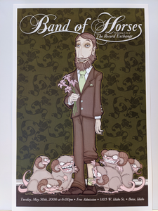 Band of Horses - Poster (Boise)
