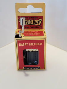 Mini Music Boxes