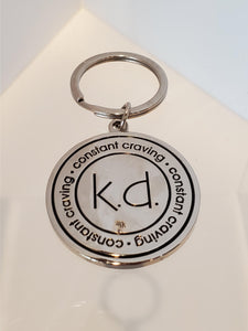 k.d. lang Constant Craving Keychain