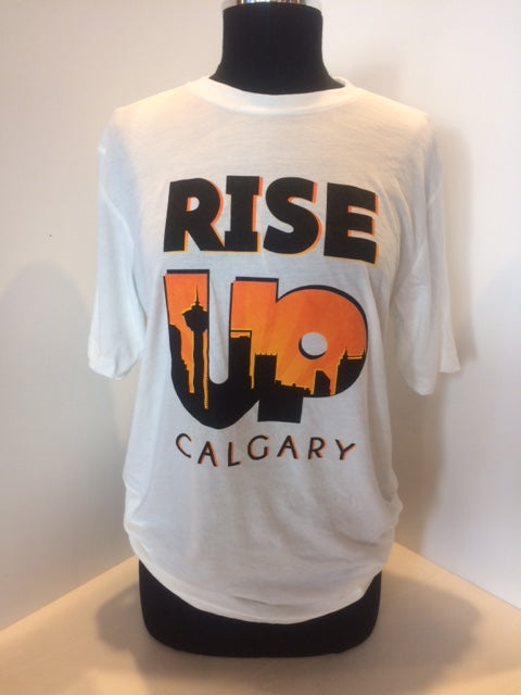 Rise Up White T-Shirt