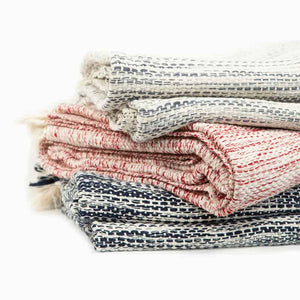 Luxurious Cotton Throw Blankets
