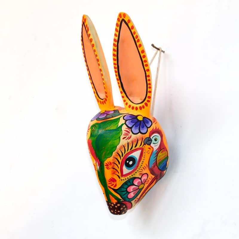 Rabbit Mask Decorative Figure