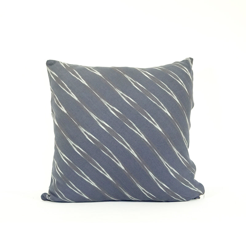 Large square gray pillow cover