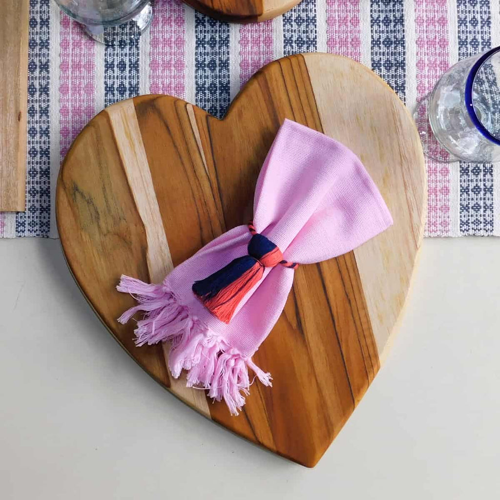 Heart-Shaped Serving Board
