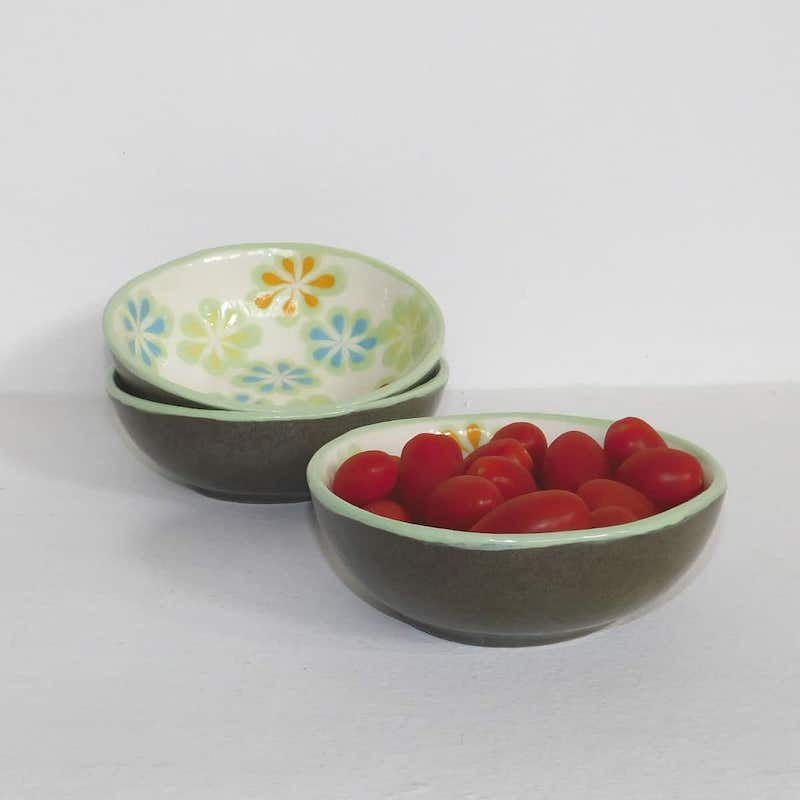 Handmade Ceramic Bowls - Medium (Set of 4)