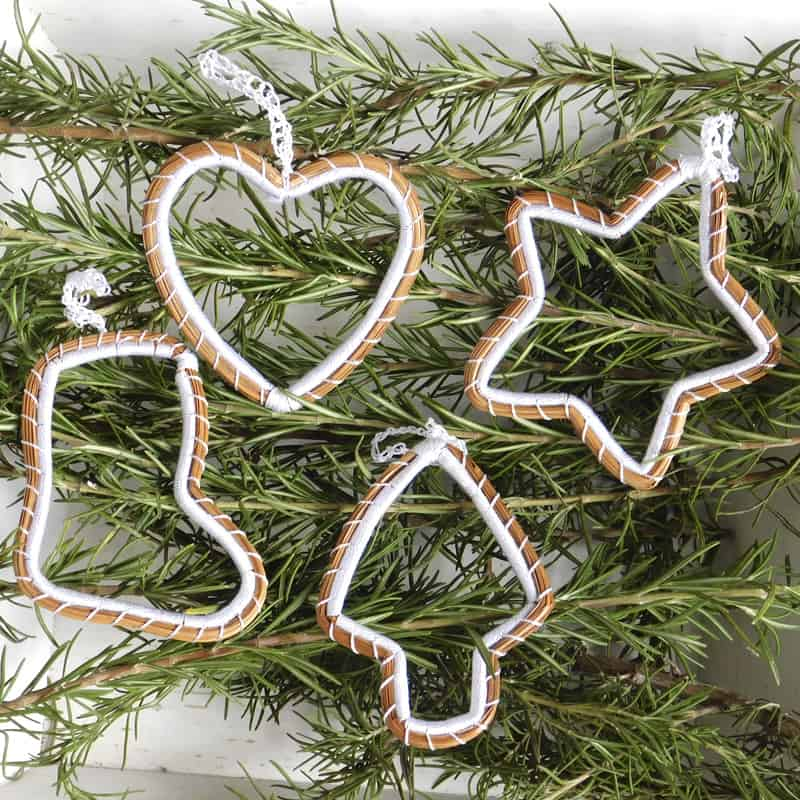 Pine Needle Ornaments