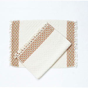 Cotton placemats made in Guatemala
