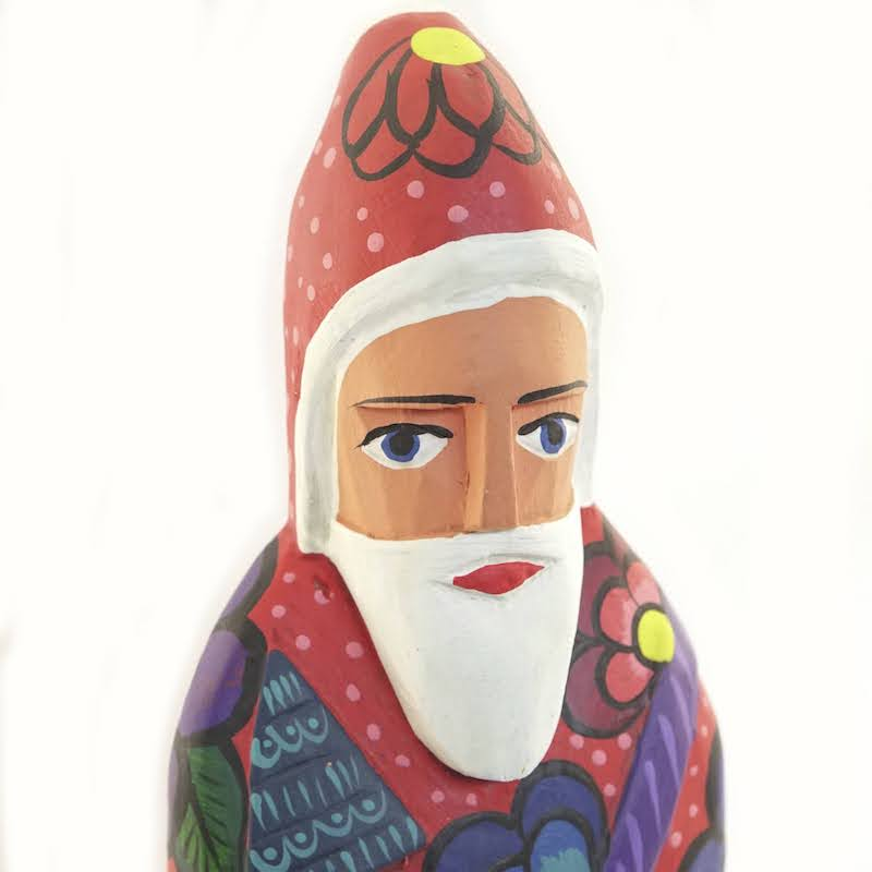 Standing Santa Claus - 2 Color Options