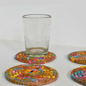 Pine Needle Coaster Set of 4