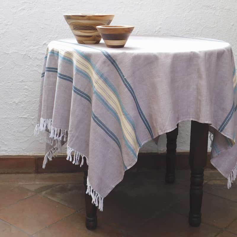 Sand-Colored Tablecloth - Sand & Sea Collection
