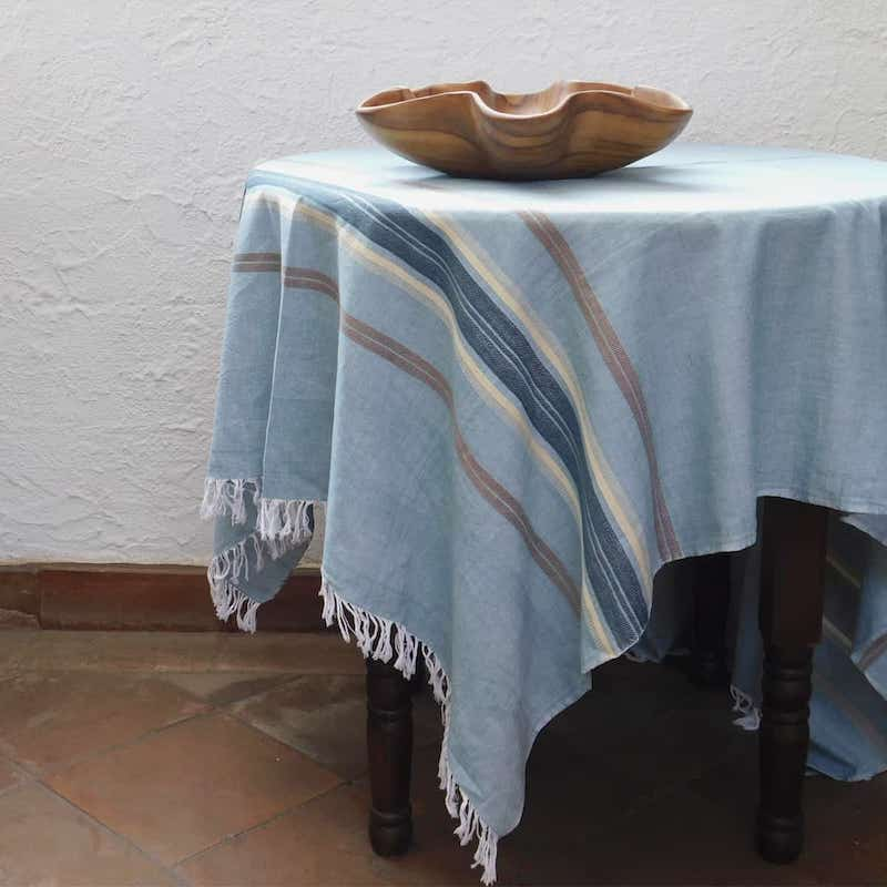 Sea-Colored Tablecloth - Sand & Sea Collection