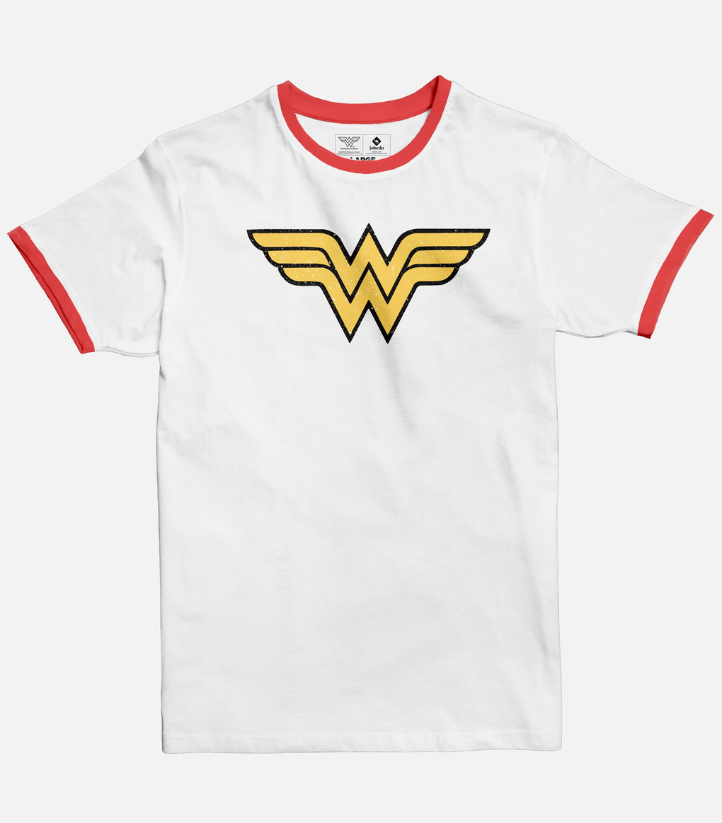 Wonder woman Logo Ringer T-shirt