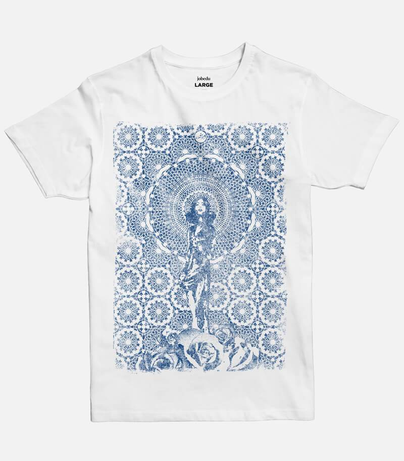 Sharqyyeh - Blue Print Men's T-shirt