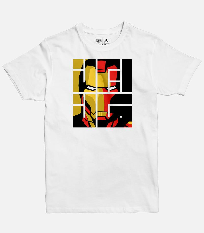 Iron Man Font Regular T-shirt
