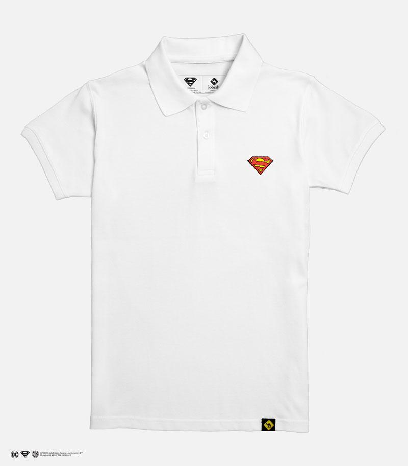 Superman Logo Men's Polo Shirt