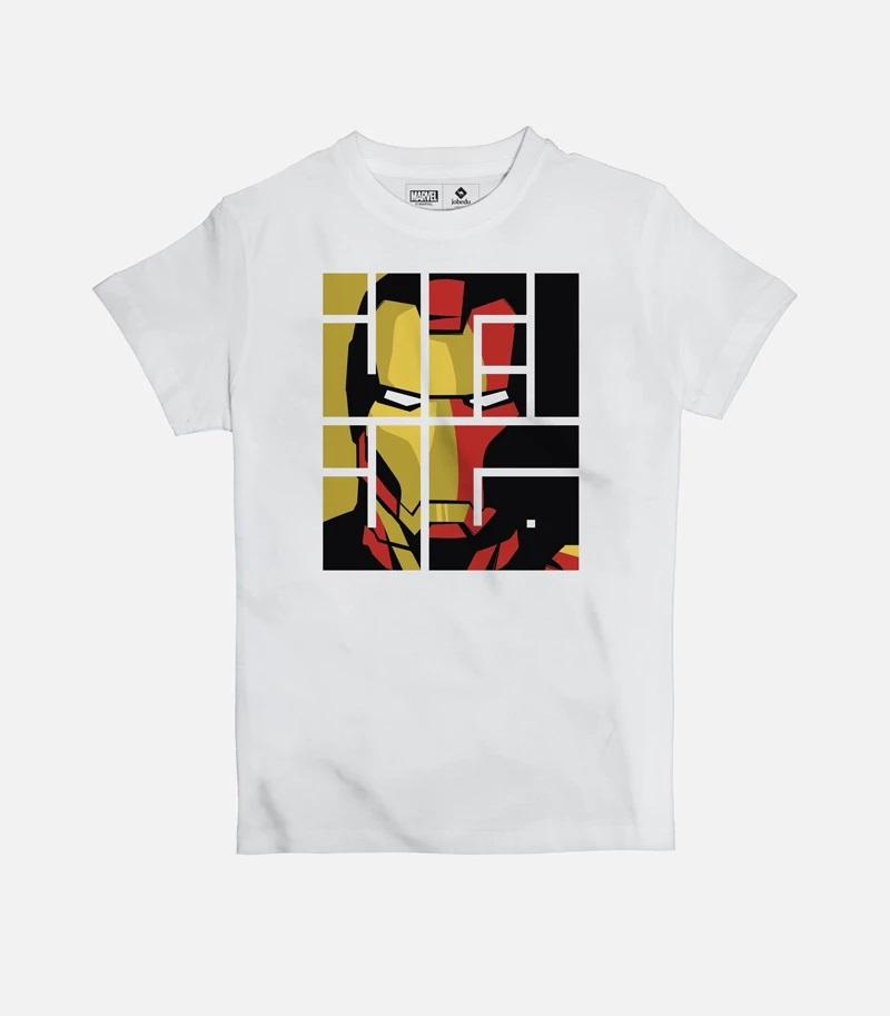 Iron Man Font Kids' T-shirt