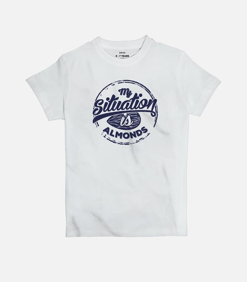 My Situation is Almonds Kid's T-shirt