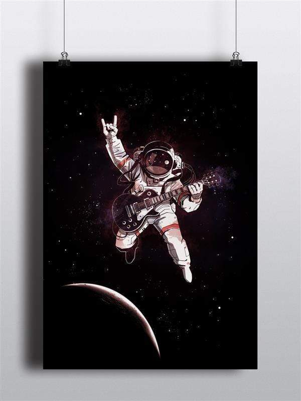 Solo In Space Poster - Jobedu