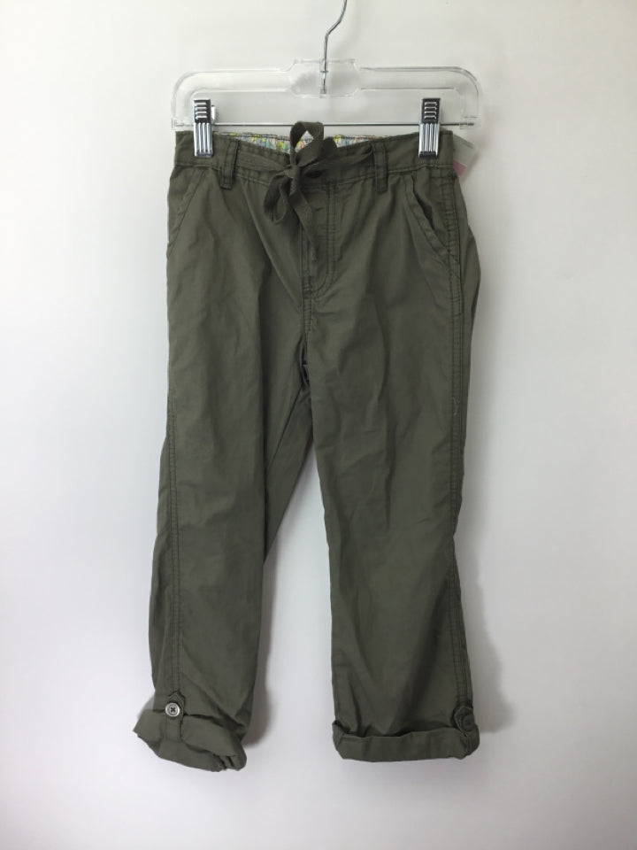 Carter's Child Size 6 Green Pants - girls