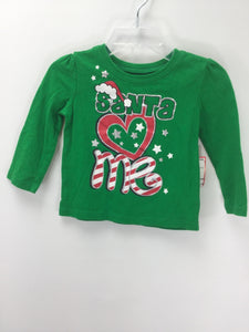 Childrens Place Child Size 12-18 Months Christmas T-Shirt