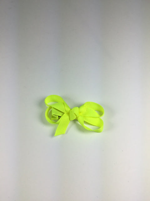 Mini Solid Ansi Yellow Cuteypie Clips