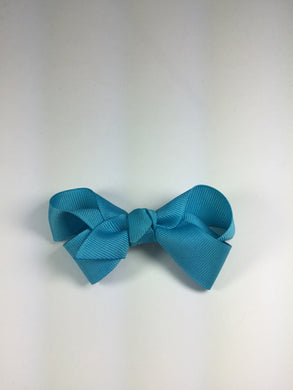 Medium Solid Modern Turquoise Cuteypie Clips