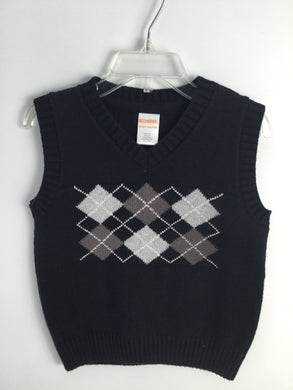 Gymboree Child Size 18-24 Months Argyle Vest - boys