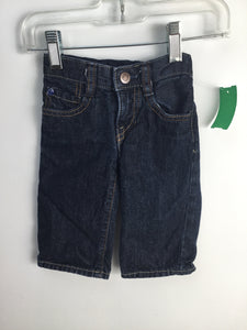 Baby Gap Child Size 3-6 Months Solid Jeans - boys