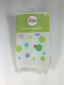 Circo Child Size 9-18 months White Tights - girls