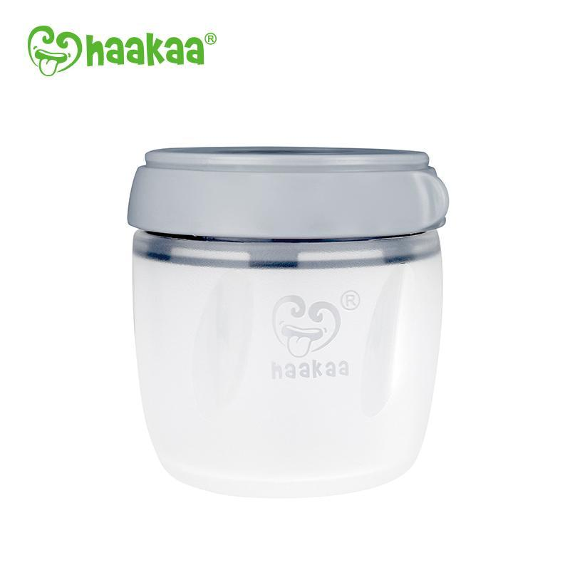 Haakaa Silicone Storage Container/Grey
