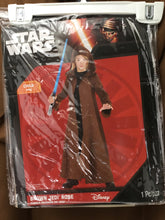 Load image into Gallery viewer, Star Wars Child Size L Brown Jedi Robe Costume