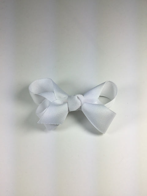 Medium Solid White Cuteypie Clips