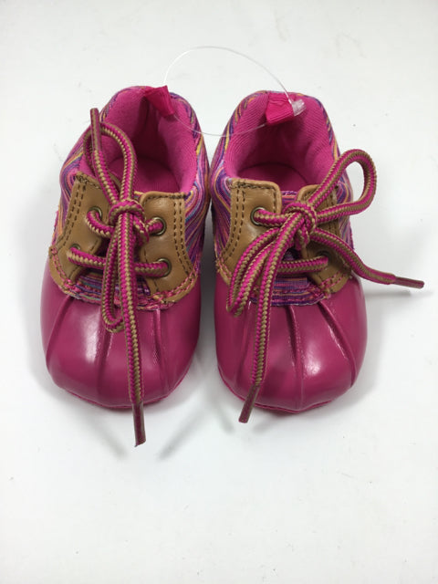 Child Size 3 Pink Shoes/Boots - girls