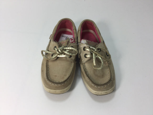 Sperry Tan 8.5 Shoes/Boots - girls