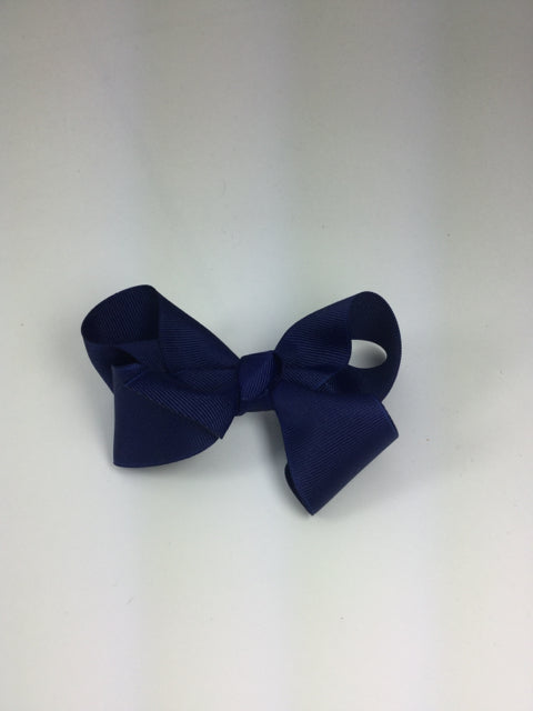 Large Solid Light Navy Cuteypie Clips