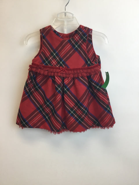 Childrens Place Child Size 0-3 Months Red Dress - girls