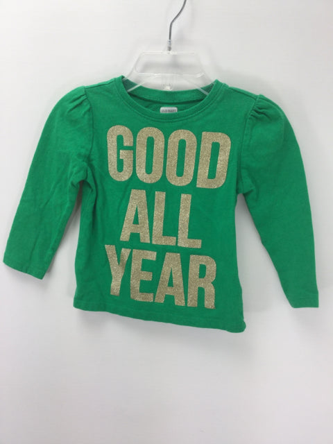 Old Navy Child Size 12-18 Months Christmas T-Shirt