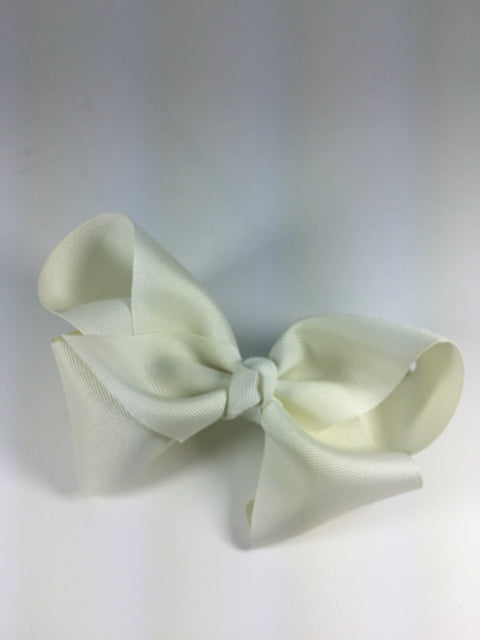 X-Large Solid Antique White Cuteypie Clips