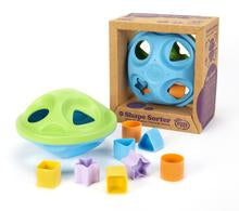 "Load image into Gallery viewer, Green Toys Shape Sorter8"" L x 8"" W x 5.2"" H"