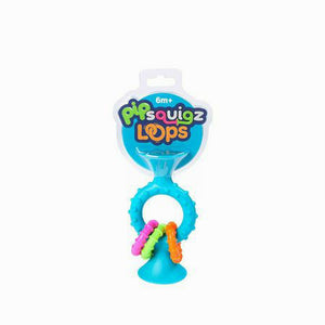 Fat Brain Toys Pip Squigz Loops - Blue