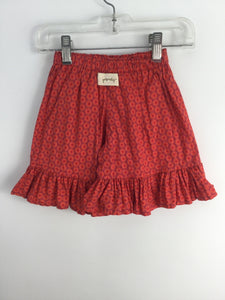 Persnickety Child Size 2 Orange Cotton Shorts - girls