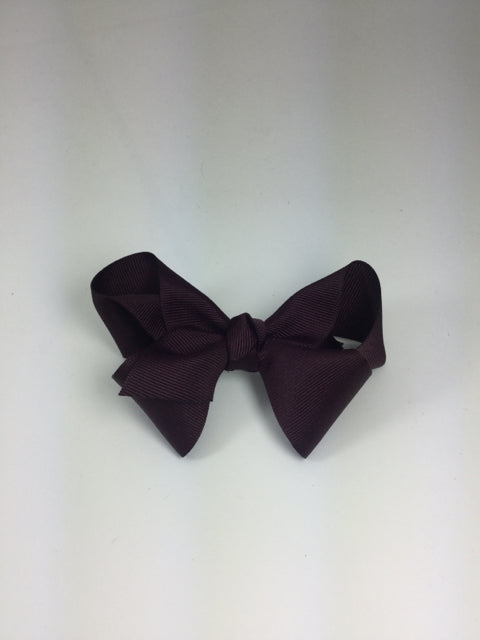 Large Solid Burgundy Cuteypie Clips