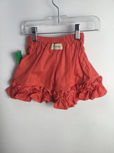 Load image into Gallery viewer, Persnickety Child Size 18-24 Months Orange Cotton Shorts - girls
