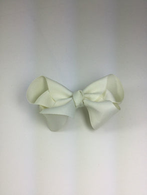 Large Solid Antique White Cuteypie Clips