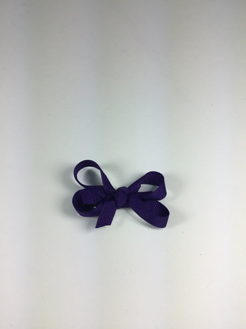 Mini Solid Dark Purple Cuteypie Clips