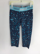 Load image into Gallery viewer, Under Armour Child Size M Blue Print Poly Blend Pants - girls